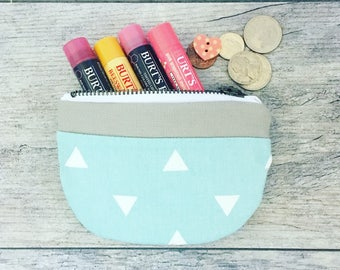 Canvas Coin Purse ~ Cute Bags! Southwestern Style ~ Boho Purse ~ Small Travel Bag ~ Womens accessories - canvas bag for women - wallet