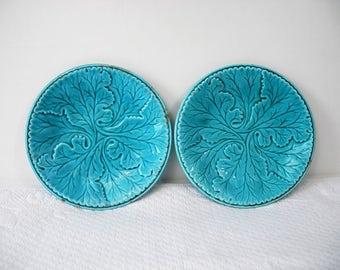 antique English ceramic plates
