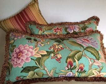 Catalano Turquoise 4 piece pillow set