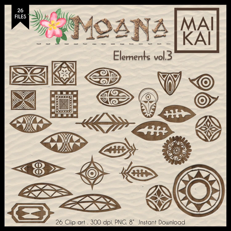 Moana clipart moana symbol maui tattoo moana invitation for Moana tattoo ideas