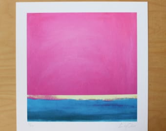 Summers Day - Print from original painting - Lucy Coker