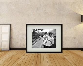 Oasis - Brothers Framed Print