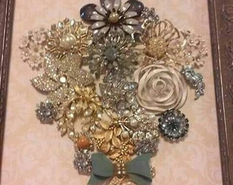 Brooch Flower Bouquet
