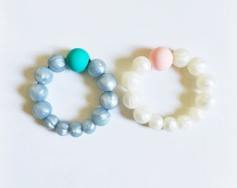 Silicone teething ring toy/ teething ring/ baby toy
