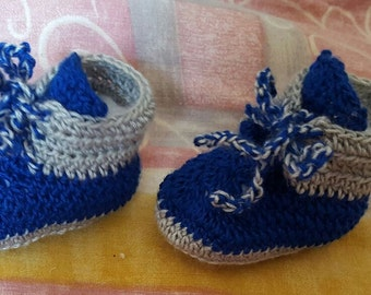 Woven baby shoes