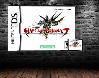 Blood of Bahamut - Fantastic Action/RPG Hybrid - DS - English Translation