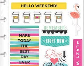 Happy Planner Stickers - TGIF