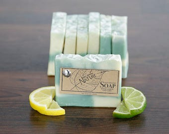 Lime Lemon Artisan Soap