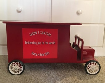 Toy Delivery Truck