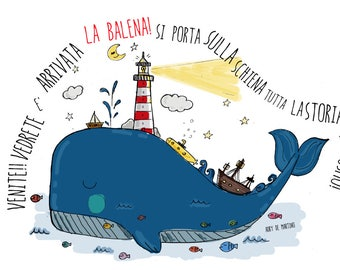 The whale Carlotta
