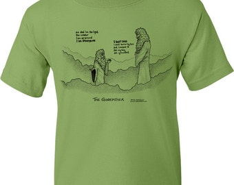The Godfather Movie Title T-Shirt (Kiwi Green)