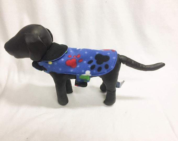 Black/Red/Blue/Green Dog Coat 3037
