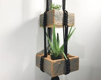 3-Tiered Hanging Planter