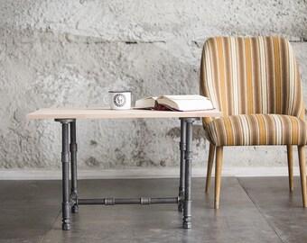 beistelltisch shabby stahlrohr loft industrie. Black Bedroom Furniture Sets. Home Design Ideas