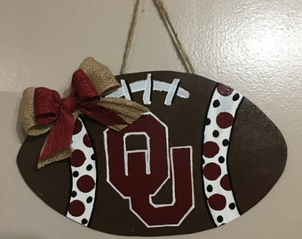 Oklahoma University Door Hanger/Wall Decor