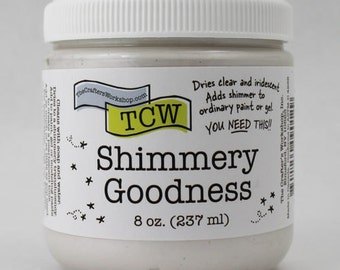 Shimmery Goodness Texture Paint by TCW - 8oz