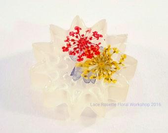 Pressed Flower Paperweight