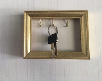 Small Picture Frame Key Holder