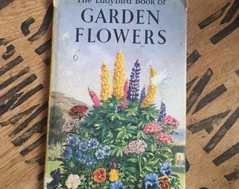 Ladybird book, Vintage First Edition Ladybird book of Garden Flowers
