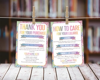 Thank You Card, 4x6, Care Card, Free Personalize, Home Office Approved (Fonts color), Consultant Digital Card, LLR Thank You Card- Care card
