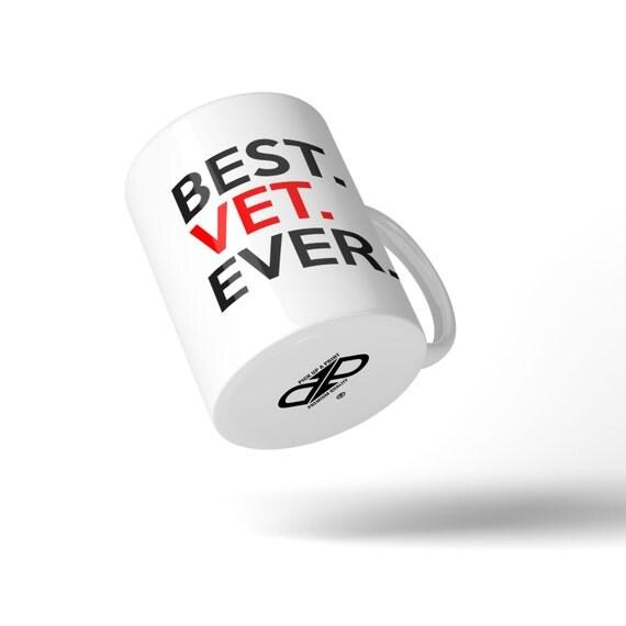 Best Vet Ever Mug - Great Gift Idea Stocking Filler