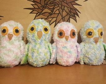 Baby owl plush