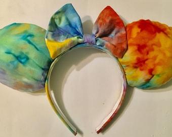 Tie Dye Mickey Ears
