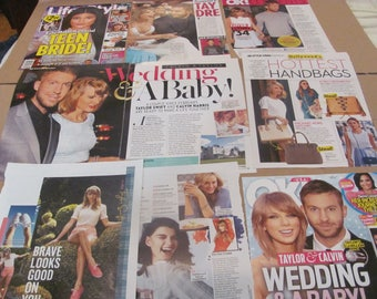 TAYLOR SWIFT  #5  CLIPPINGS  #0516