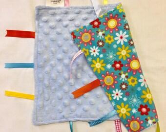 Tab baby blanket / comforter