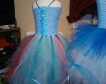 Cinderellas blue fairy godmother tutu dress