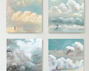 Cloud Studies I - IV