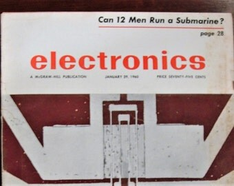 Electronics Magazine January 29, 1960