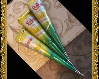 High Quality Brown Satrang Mehandi Henna Cones