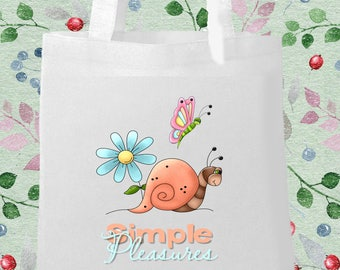 Simple Pleasures Printed Eco Bag