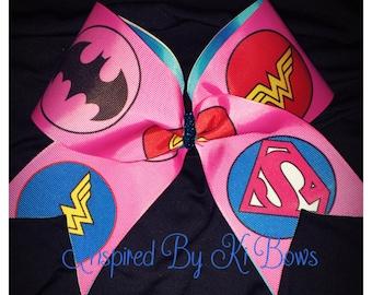 Superhero Cheer Bow