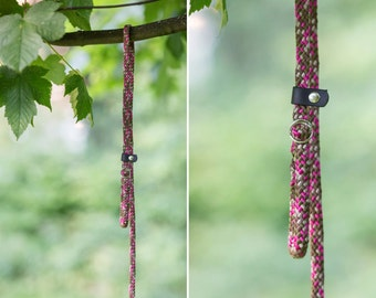 Slip Lead - Rope leash - Girlie Camo