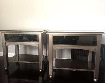 2 Refurbished Ethan Allen Nightstands/Side Tables