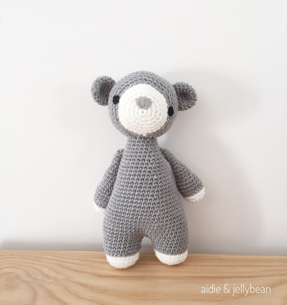 Amigurumi Baby Shower Bears : BEAR crochet amigurumi Baby and toddler toy by ...