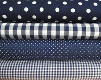 Fabric package Navy article 036