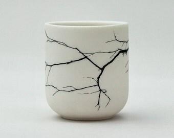 Twig Porcelain Candle Holder