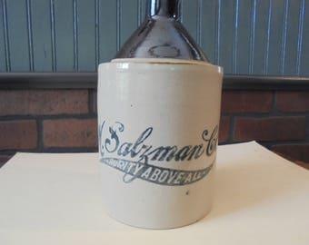 Vintage Jug M. Salzman Co.