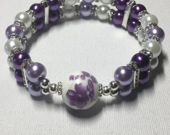 Double banded painted pearl (Purple)