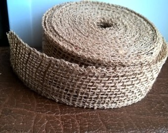 Natural Burlap Ribbon