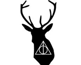 HARRY POTTER Inspired Quality Vinyl Decal; Car Decal, Yeti Decal, Gifts for Him, Gifts for her, Fandom Art, Fast Shipping!!