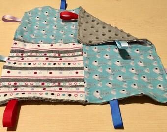 Couverture à Rubans/Tag Blanket