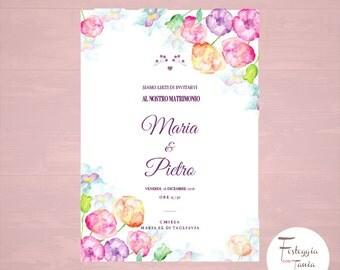 Printable wedding cards wedding invitations printable wedding/personalized/coordinated