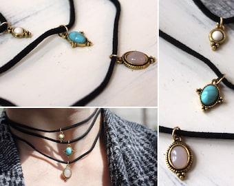 Sweet Charm Choker Necklace