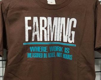 Farming t shirt