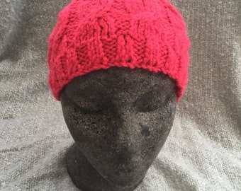 Raspbery cable hat