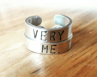 Customizable engraving ring